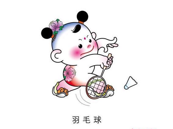津娃简笔画幼儿园