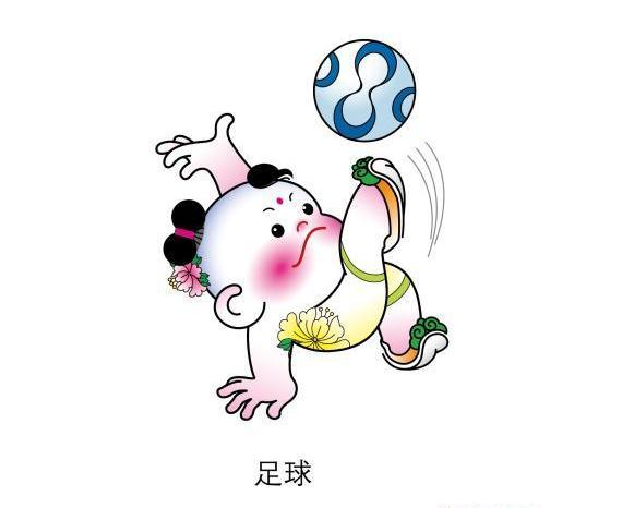 2017全运津娃简笔画