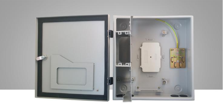1分16插卡式室外防水分光箱(FGX076)
